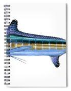 White Marlin Spiral Notebook