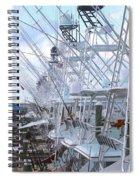 White Marlin Open Docks Spiral Notebook