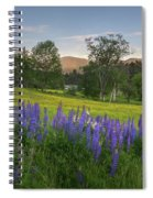 White Mountain Sunset Spiral Notebook