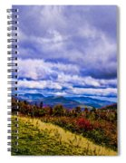 White Mountains Spiral Notebook