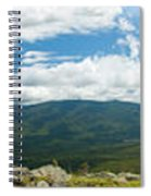 White Mountains Pano Spiral Notebook