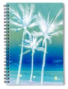 White Palms Spiral Notebook
