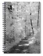 White Path Spiral Notebook
