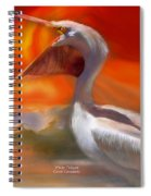 White Pelican Spiral Notebook