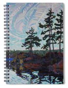 White Pine Island Spiral Notebook