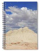 White Pocket # 2 Spiral Notebook
