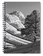 White Pocket Spiral Notebook