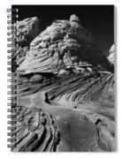 White Pockets 2358 Spiral Notebook
