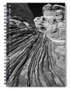 White Pockets 2361 Spiral Notebook