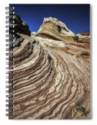 White Pockets 2376 Spiral Notebook