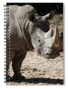 White Rhino Spiral Notebook