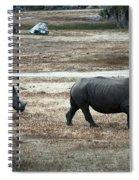 White Rhino's Spiral Notebook