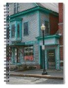 White River Junction Street Spiral Notebook