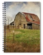 White River Trace Barn 2 Spiral Notebook