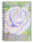 White Rose Spiral Notebook