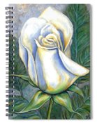 White Rose One Spiral Notebook