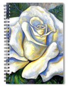 White Rose Two Spiral Notebook