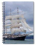White Sails Spiral Notebook