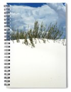 White Sand Green Grass Blue Sky Spiral Notebook