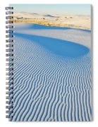 White Sands Magic Hour Spiral Notebook