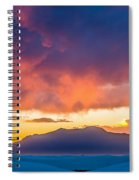 White Sands Panorama Spiral Notebook