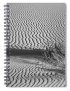 White Sands Ripples Spiral Notebook