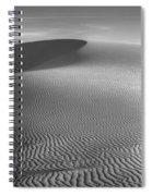 White Sands Sunset Dune Spiral Notebook
