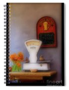 White Scale Spiral Notebook