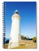 White Seaside Tower Spiral Notebook