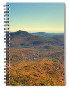 White Side Mountain Panorama Spiral Notebook