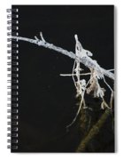 White Stick Spiral Notebook