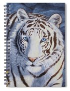 White Tiger - Crystal Eyes Spiral Notebook