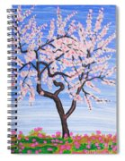 White Tree, Painting Spiral Notebook