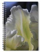 White Tulip 2 Spiral Notebook