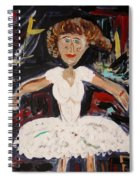 White Tutu Spiral Notebook