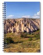 White Valley - Cappadocia Spiral Notebook