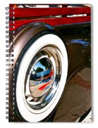 White Wall Spiral Notebook