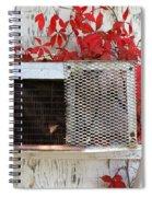 White Wash Spiral Notebook