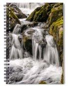 White Water Rapids Spiral Notebook