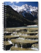 White Water River - Lijiang Spiral Notebook