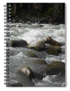 White Waters Spiral Notebook