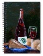 White Wine Spiral Notebook