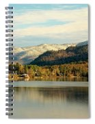Whiteface Dusting Spiral Notebook