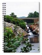 Whitefish Falls Spiral Notebook