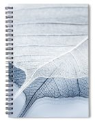 Whiter Shade Of Pale Spiral Notebook
