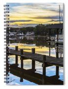 White's Cove Sunset Spiral Notebook