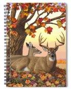 Whitetail Deer - Hilltop Retreat Spiral Notebook