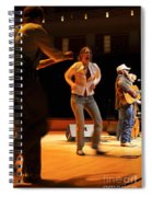 Whitetop Mountain Band In Concert Spiral Notebook