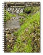 Whitewater Bridge And Dam Scene 13 Spiral Notebook