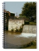 Whitewater Canal Locks Metamora Indiana Spiral Notebook
